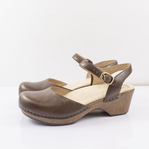 Dansko Sam Teak Vintage Pull Up, US 8.5-9M